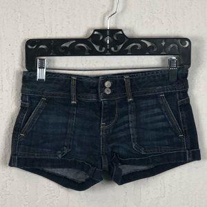 Aeropostale Denim Shorts Size